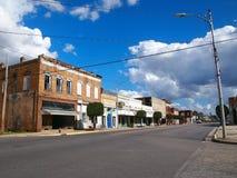 Rue de Rowland North Carolina West Main Image libre de droits