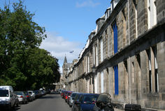 Rue de rue Andrews, Ecosse photos libres de droits