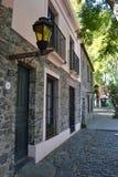 Rue de Sacramento de del de Colonia Photos stock