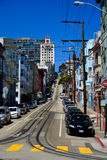 Rue de San Francisco Image stock