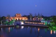 Rue de Shantang à suzhou Image stock