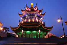 Rue de Shantang à suzhou Photo libre de droits