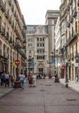 Rue de Shoping de Saragosse Photo stock