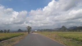 Rue de Sidenreng Rappang Photo libre de droits