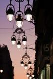 Rue de soirée Image libre de droits