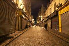 Rue de Steinkerque在清早 免版税库存图片