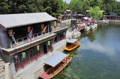 Rue de Suzhou Photographie stock