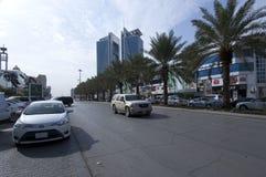 Rue de Tahlia à Riyadh, Arabie Saoudite, 01 12 2016 Photo libre de droits