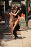 Rue de tango Image libre de droits