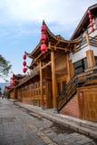 Rue de tissu de rivière de Hunan Zhangjiajie Wulingyuan Photo libre de droits