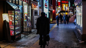 Rue de Tokyo photos libres de droits