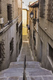 Rue de Toledo en Espagne photos stock