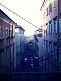 Rue de Triests, route Photos stock