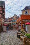 Rue de Turenne in Colmar in Alsace in France Royalty Free Stock Photography