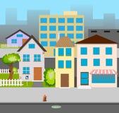 Rue de vecteur illustration libre de droits