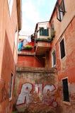 Rue de Venise, Italie Images libres de droits