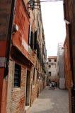 Rue de Venise, Italie Photos libres de droits