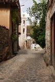 Rue de village Images stock