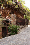 Rue de village Image libre de droits