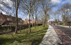 Rue de village Photo libre de droits