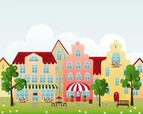 Rue de ville illustration stock