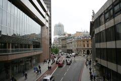 Rue de ville de Londres Photos libres de droits