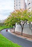 Rue de ville de Taïpeh Photo libre de droits