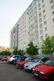 Rue de Vilnius Baltrusaicio chez Pasilaiciai le 14 mai 2014 Images stock