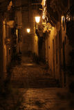 Rue de Vittoriosa Photo stock