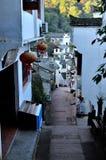 Rue de Yuehuatian Image libre de droits