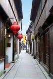 Rue de Zhouzhuang Images libres de droits