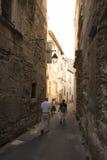 Rue des Arenes, Arles, Γαλλία Στοκ εικόνες με δικαίωμα ελεύθερης χρήσης