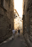 Rue des Arenes, Arles, France Royalty Free Stock Images