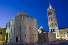 Rue Donatus dans Zadar Photographie stock