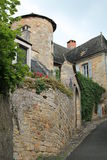 Rue Droite, Turenne ( France ) Royalty Free Stock Photos