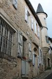 Rue Droite, Turenne ( France ) Royalty Free Stock Image