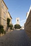 Rue du Bateau, Antibes, France Images stock