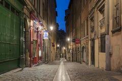 Rue du Boeuf photo stock
