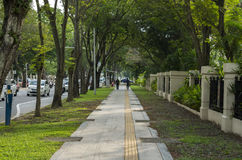 Rue du centre à Penang Image stock