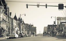 Rue du centre d'Allentown Image libre de droits