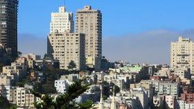 Rue du centre de San Francisco banque de vidéos