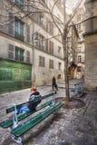Rue du Grenier-sur-l`Eau Royalty Free Stock Images