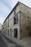 Rue du Huit Mai 1945 in Saint-Rémy-de-Provence, France Royalty Free Stock Photos
