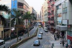 Rue du Macao Photographie stock libre de droits