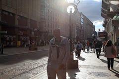 Rue du Marche στη Γενεύη, Ελβετία Στοκ Εικόνες
