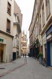 Rue du Miroir Arkivbild