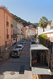 Rue du Riberalin in Cerbere, France Royalty Free Stock Photo