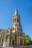 rue du simeon solides solubles de Pétersbourg Russie d'église d'Anna Peter et Paul à Berne Photographie stock libre de droits