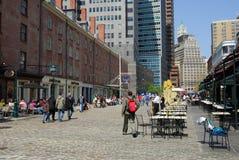 Rue du sud, New York Image stock