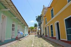 Rue du Trinidad Photos stock